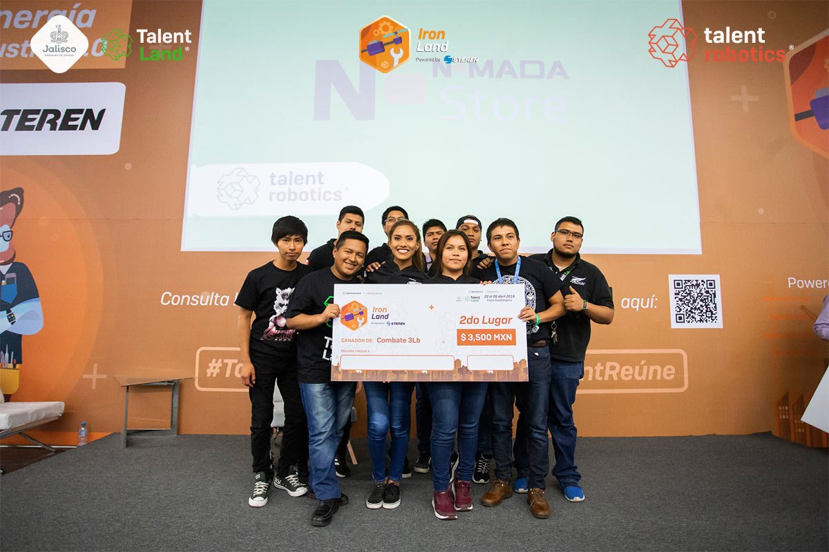 Talent Robotics 2019 - Combate 3LB