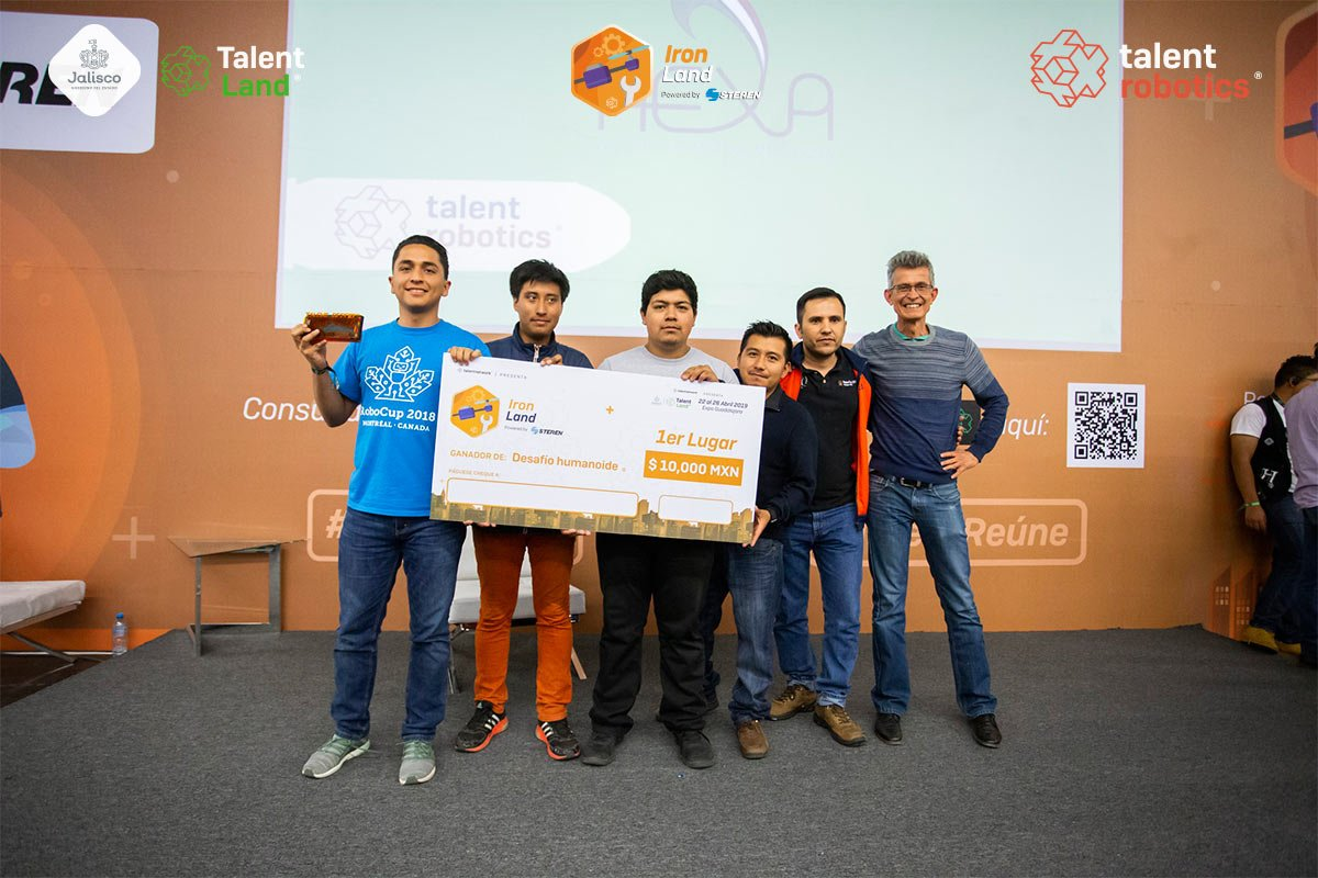 Talent Robotics 2019 - Desafío Humanoide