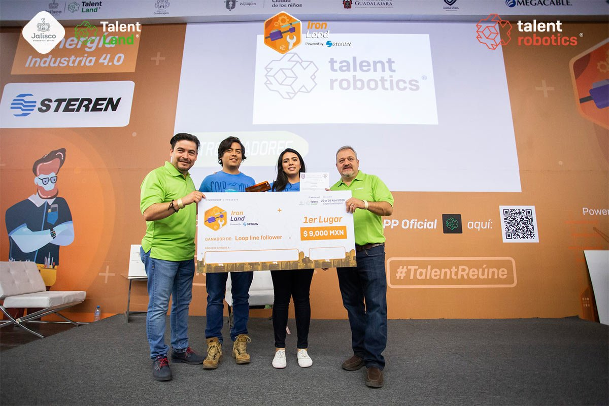 Talent Robotics 2019 - Loop Line Folower